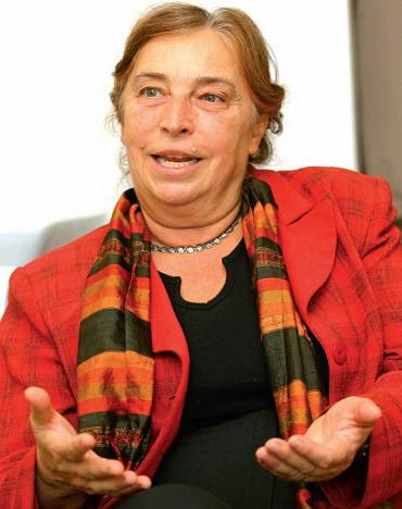 Prof. Dr. Kopp Mária orvos-pszichológus, a Semmelweis Egyetem Magatartástudományi Intézet igazgató-helyettese
