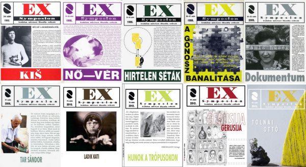Az Ex Symposion néhány borítója