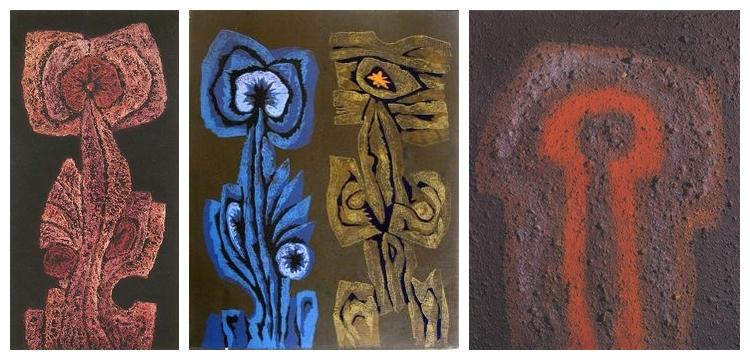 Veress Pál munkái: Virágbálvány, 1988; Virágbálvány szerelme, 1989; Házi bálvány, 1970