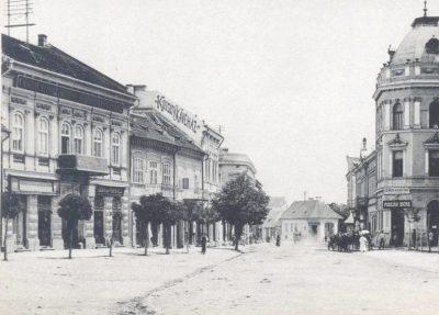 Kossuth utca. Szentgyörgy, 1911