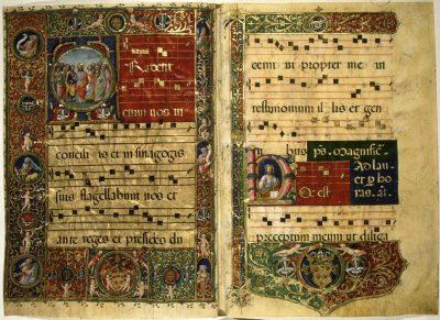 Egyházi ének késő gótikus ábrázolása(4)