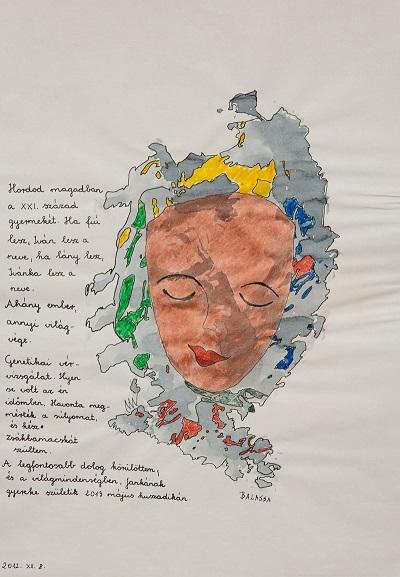 Balassa Mária: Cím nélkül, 2014