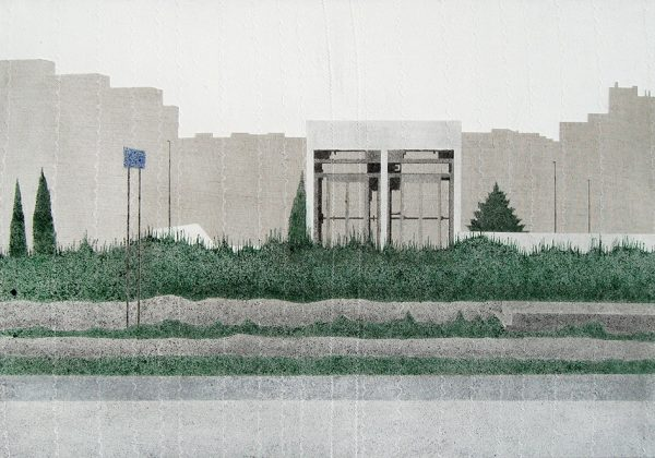 Dobó Bianka: Lift I, 2015