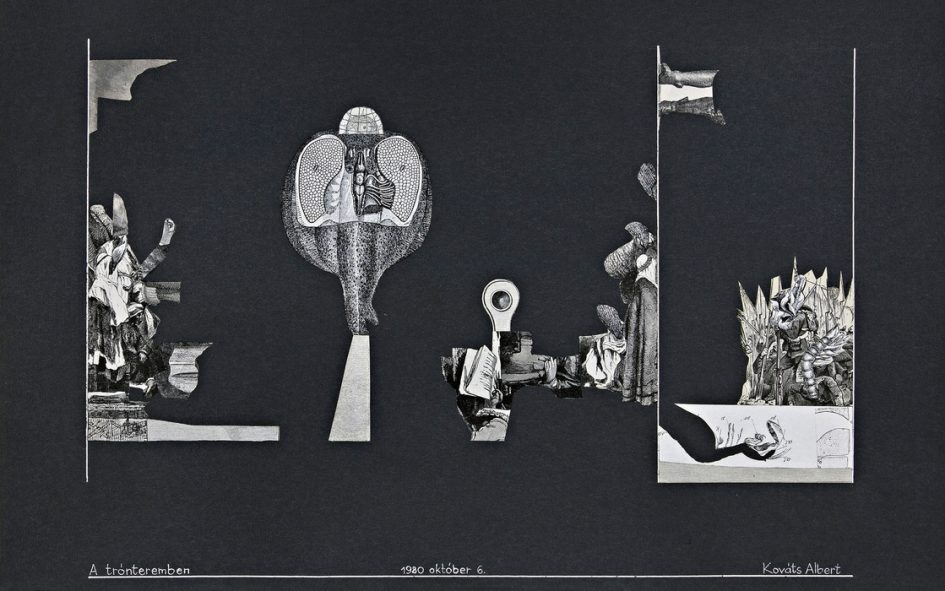 Kováts Albert: A trónteremben, 1980