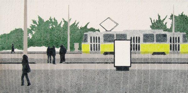 Dobó Bianka: Moszkva téri bokrok, 2013