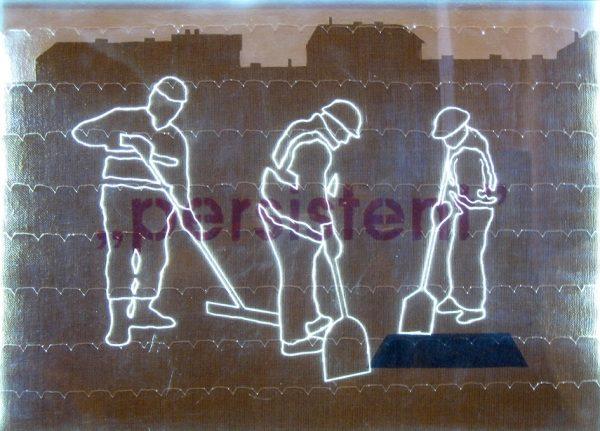 Dobó Bianka: Workers III, 2012