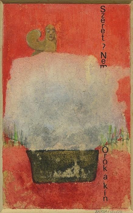 Baksai József: Szfinksz (Wystan Hugh Auden), 2009