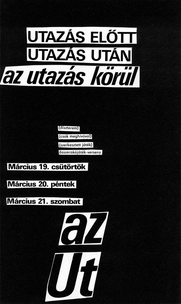 Furák Józseffel és Nemes Ferenccel készített 1967-es képverse