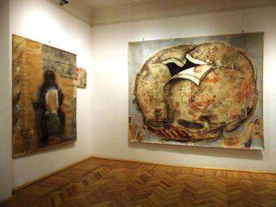 Szabó Zoltán Judóka Visszatérő motívum című marosvásárhelyi kiállításának részlete, 2010