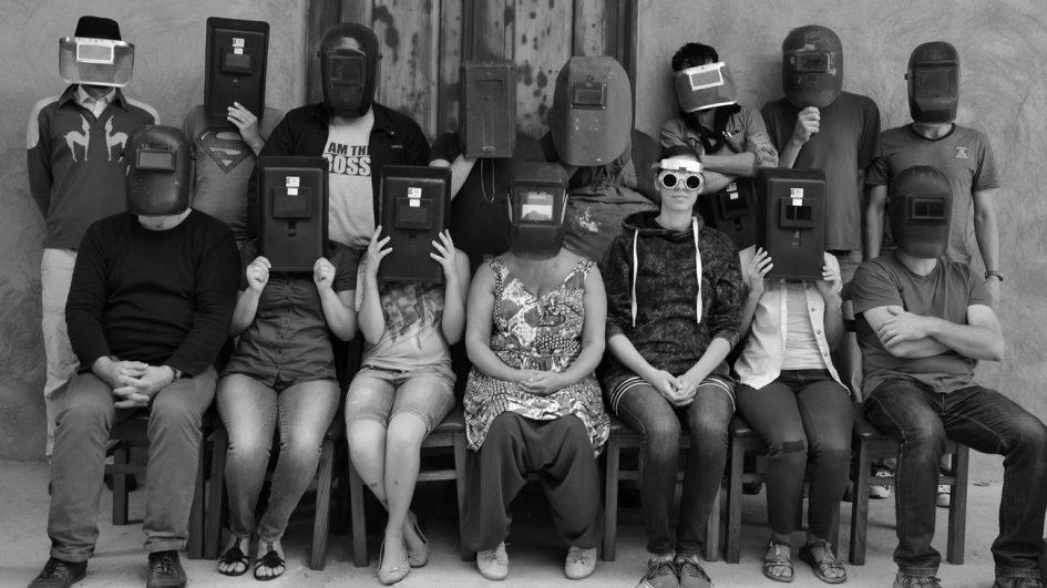 A 2015-ös Nyárádszeredai Művésztelep csapata