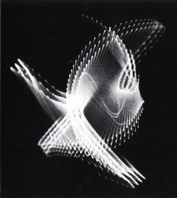 Ben Laposky elektronikus absztrakciója, 1953