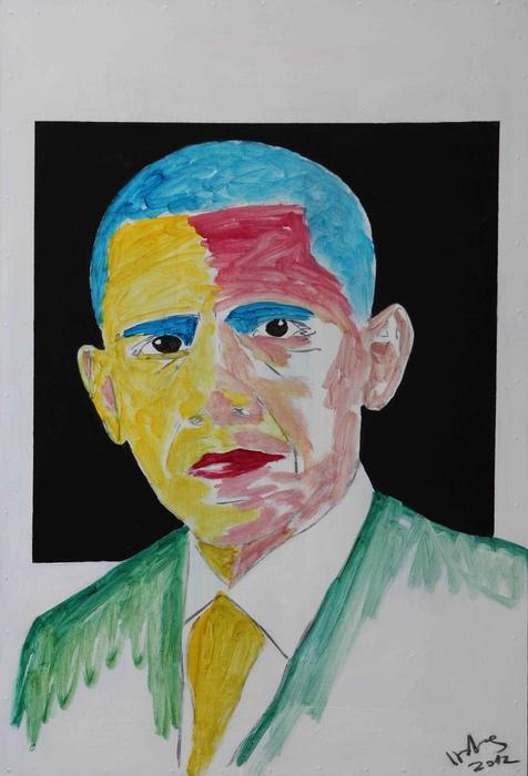 DrMáriás: Barack Obama Kazimir Malevics műtermében