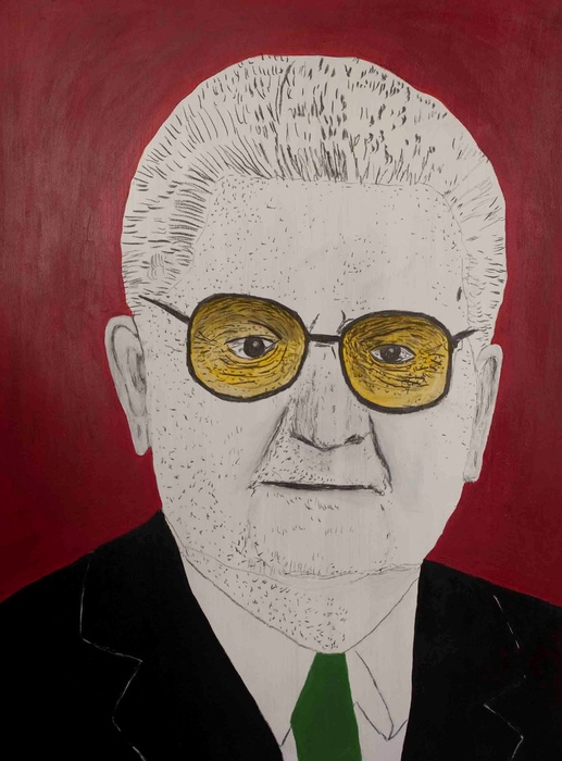 DrMáriás: Boross Péter Andy Warhol műtermében
