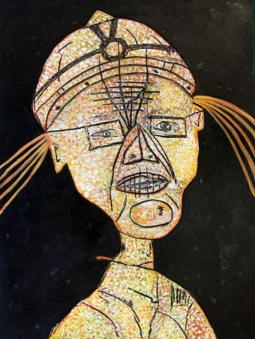 DrMáriás: Demszky Gábor Jean Dubuffet műtermében
