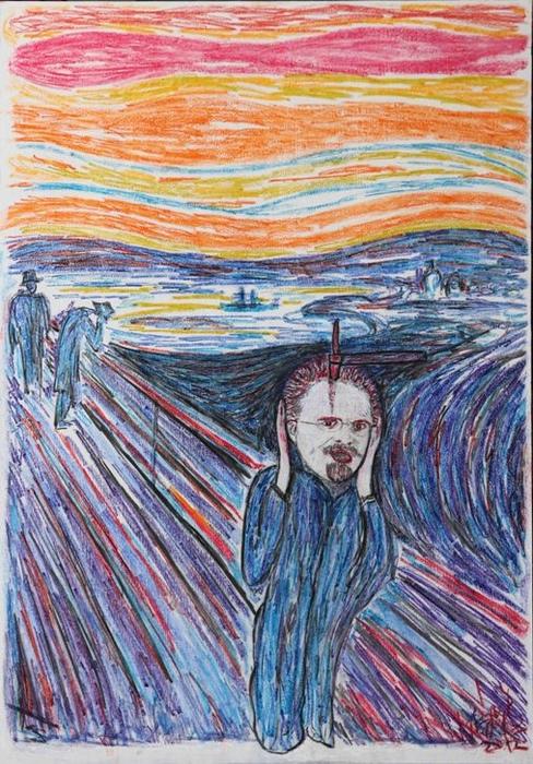 DrMáriás: Leon Trockij Edvard Munch műtermében
