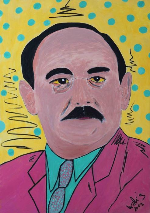 DrMáriás: Nagy Imre Andy Warhol műtermében