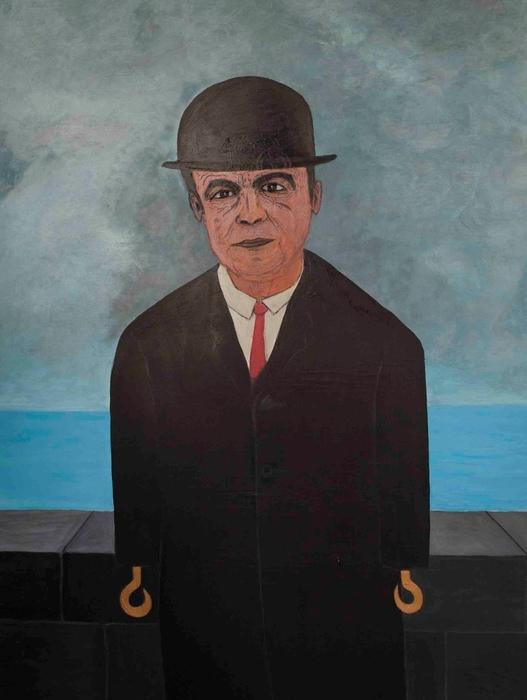 DrMáriás: Tőkés László René Magritte műtermében