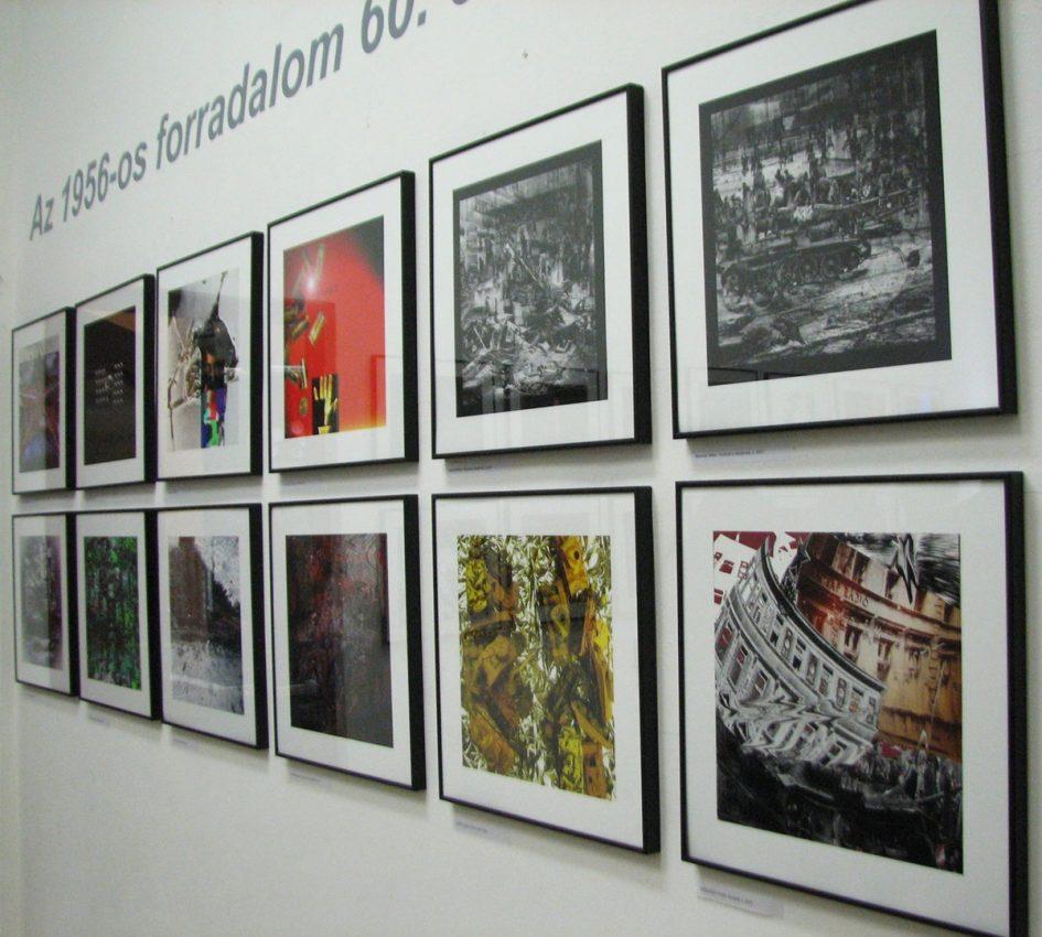 Az 56-ról szabadon... című kiállítás részlete (Fotó: Varga László)