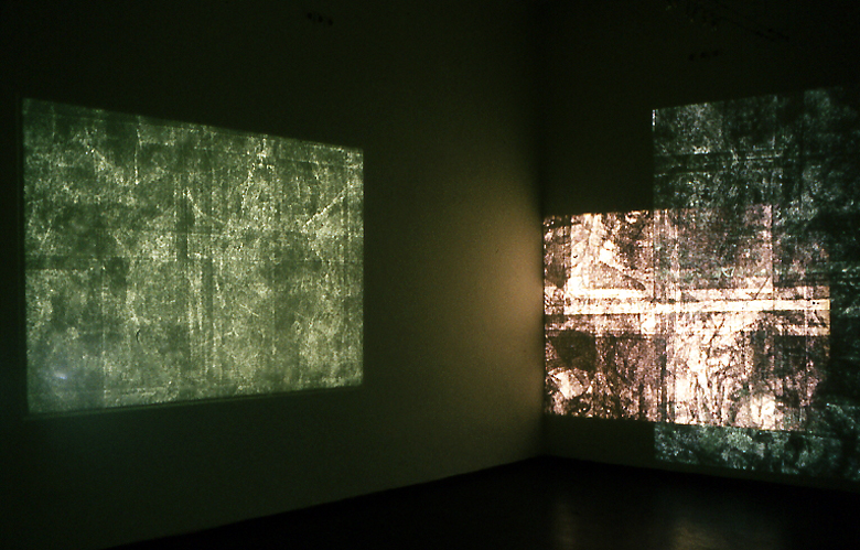 Celesztikon installáció, Bartók 32 Galéria, 1993