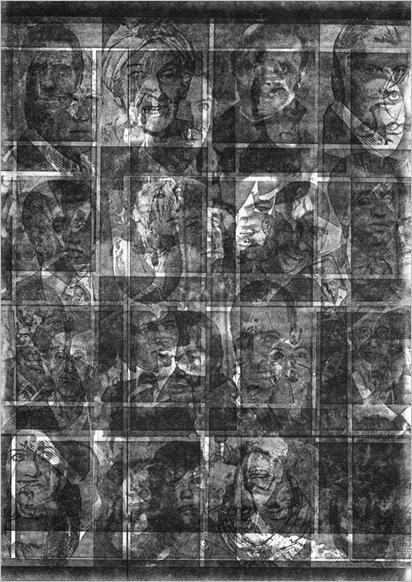 Kecskés Péter: Celesztikon, fénymásolat, 1990