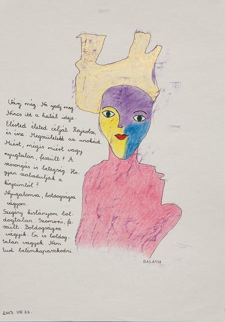 Balassa Mária: Cím nélkül, 2013