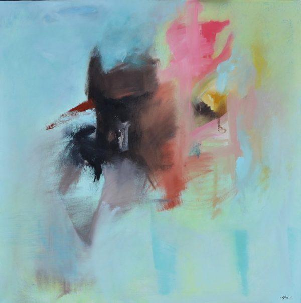 Sejben Lajos: Műteremben, 2017