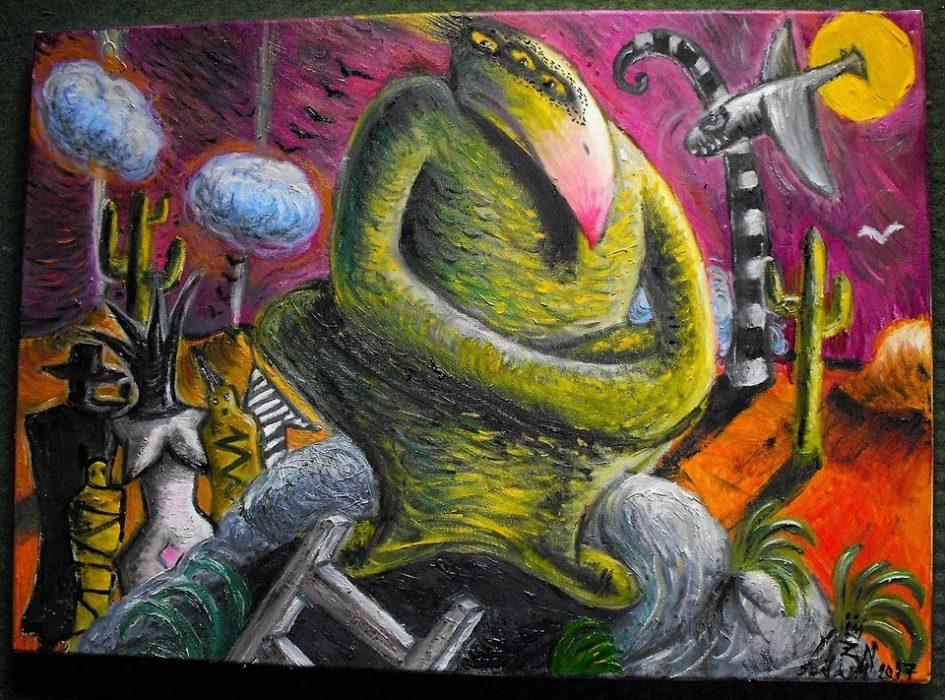 Szilágyi von Neuwirth Zoé: A zöld madár