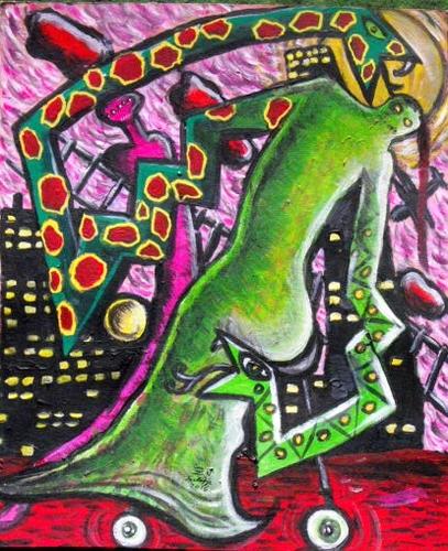 Szilágyi von Neuwirth Zoé: Kígyózó mozdulatok