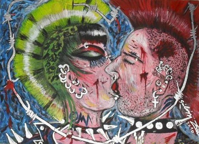 Szilágyi von Neuwirth Zoé: A csók