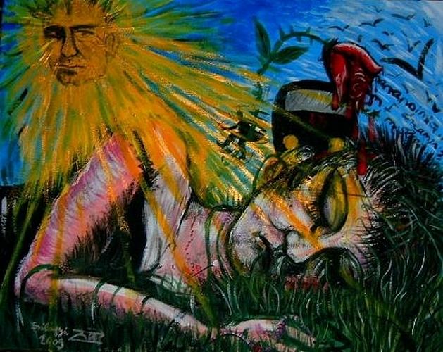 Szilágyi von Neuwirth Zoé: A budafoki alvó és a Lackó arcú Nap