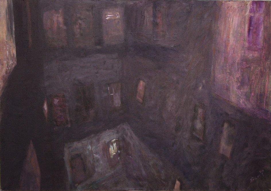 Nádor Tibor: Esti körfolyosó – Vacsoraidő, 2001