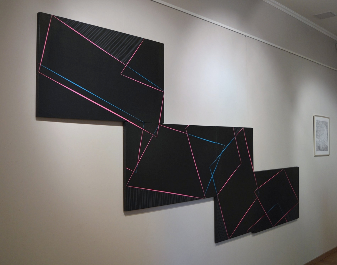 Fábián Zoltán kiállításának részlete