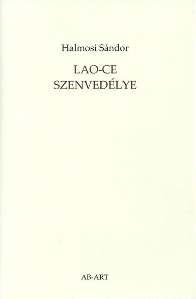 Halmosi Sándor új könyvének borítója; a közölt vers ebből a kötetből való