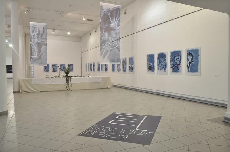 Az El, Kondor, pláza című kiállítás részlete (Fotó: Kiss Ágoston)