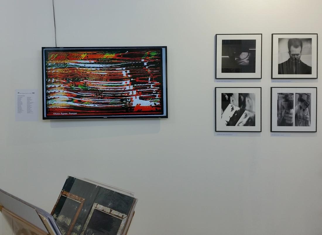 A MET standjának és kiállításának részlete a 2018-as Art Marketen