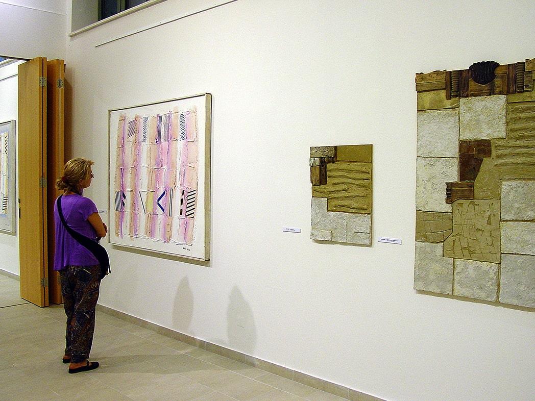 2009, MANK Galéria, Szentendre: Bartl József és Birkás István művei