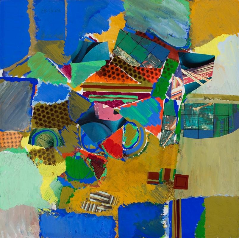Birkás István: Kék-zöld bagatell, 1978