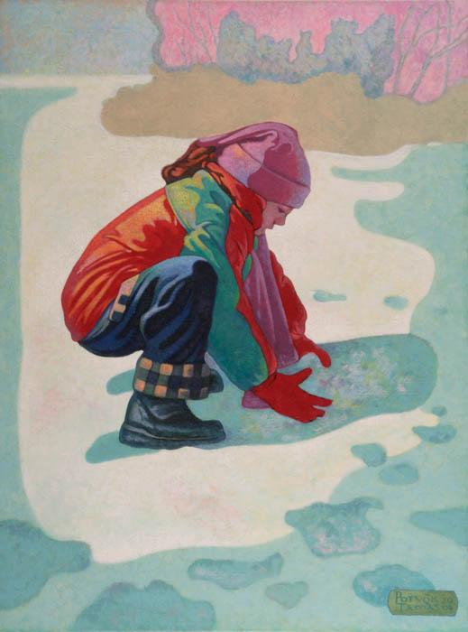 Potyók Tamás: Havat gyúró, 2004
