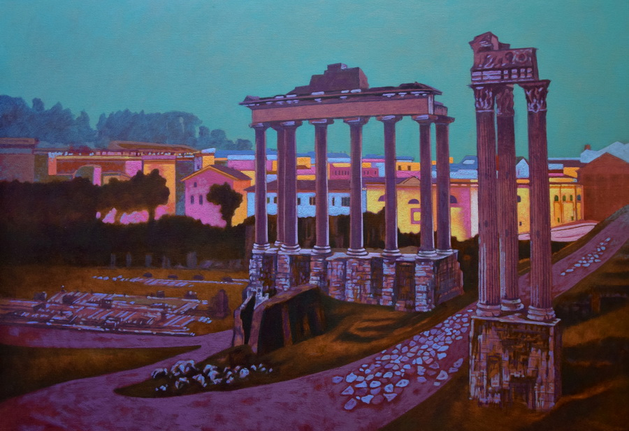 Potyók Tamás: Forum Romanum, 2016