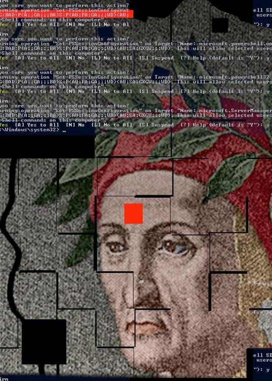 Horkay István: Hiba, 2017, komputergrafika