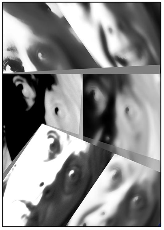 Kelecsényi Csilla: Én-kép 3., 2012-2013, digitális print
