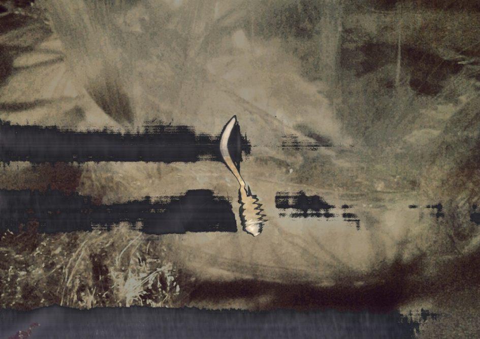 Barti Magdolna: Hiány, 2015, digitális kollázs