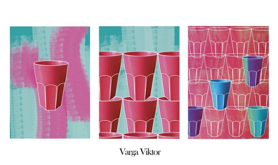 Varga Viktor: Hiba projekt, 2017, sorozat, digitális print