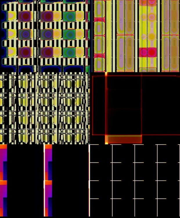 Gyenes Zsolt: R-variációk, 2017, audio-video, MOV, Hi-fi hang, 04:14, loop, hat állókép a videóból