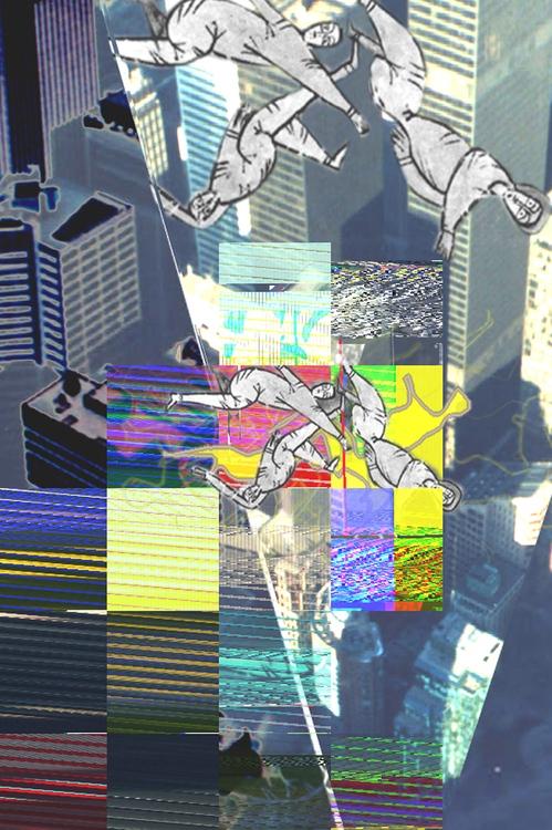 Szöllőssy Enikő: Hiba – New York, digitális nyomat