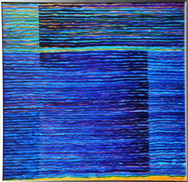 Ország László: Hasonlatok, 50x50 cm, akvarell, 2017