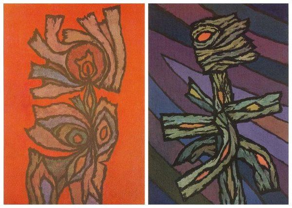 Veress Pál munkái: Nősténybálvány, 1993; Menekülő bálvány, 1988