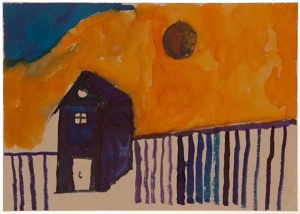 Hercsik János: Kék ház, 2010