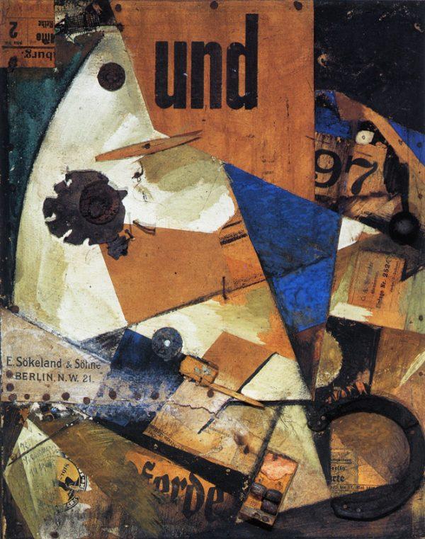 Kurt Schwitters: Das Undbild, 1919