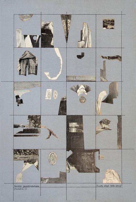 Kováts Albert: Formatan I, 1980